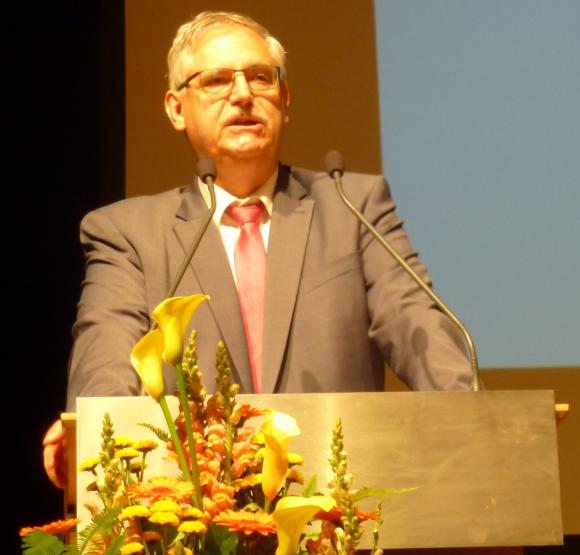 Dr. Rainer Bauer - Verbandstag 2018 in Bamberg